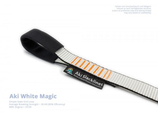 Aki Endschlaufe Vernäht Einfach White Magic