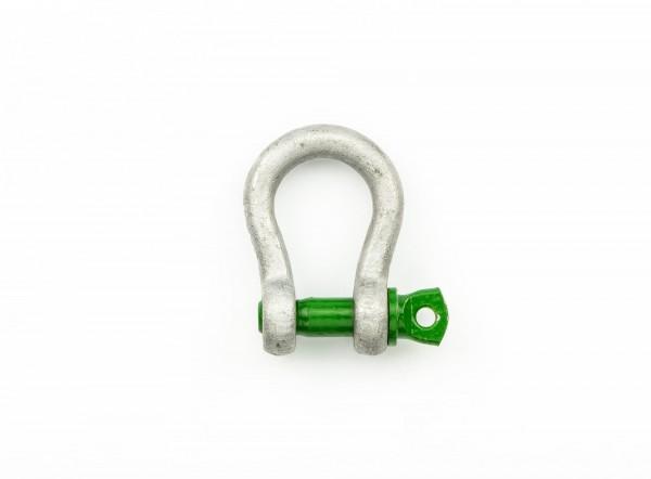 Green Pin Schäkel geschweift WLL 0,5 t