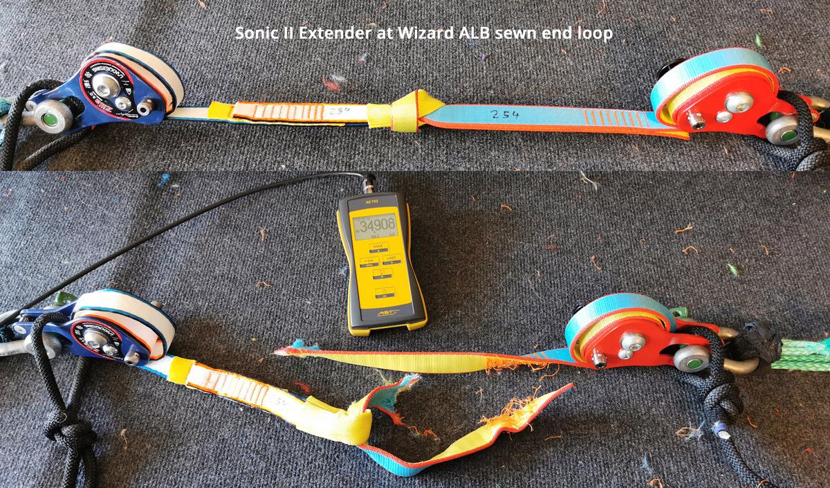 Aki-Slacklines-girth-hitch-05-extender-sonic-II-wizard-alb