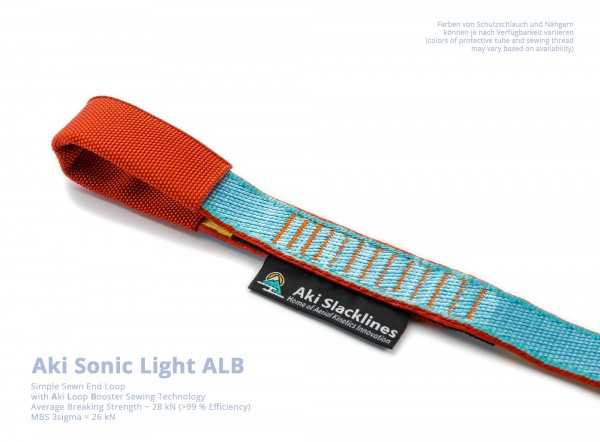 Aki Endschlaufe Vernäht Einfach Sonic Light ALB