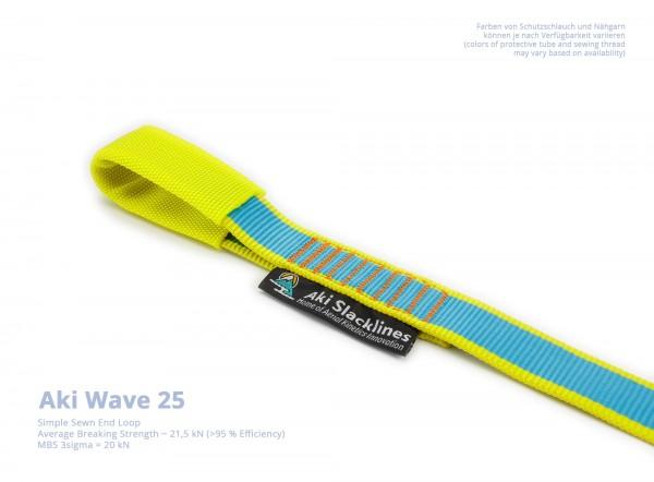 Aki Endschlaufe Vernäht Einfach Wave 25