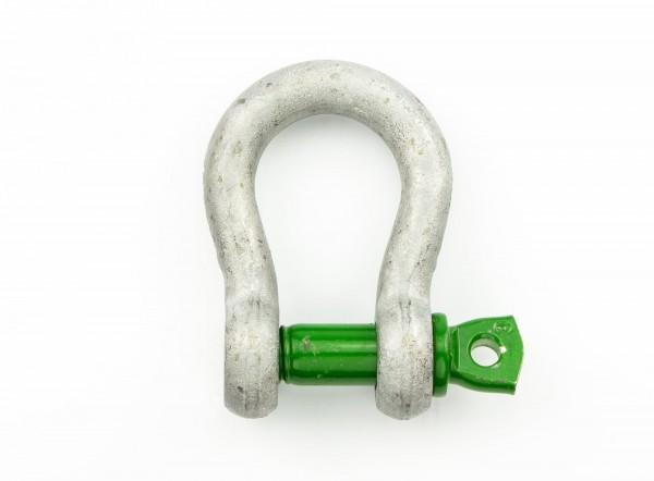 Green Pin Schäkel geschweift WLL 1,5 t