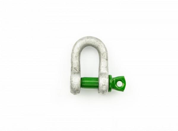 Green Pin Schäkel gerade WLL 0,5 t